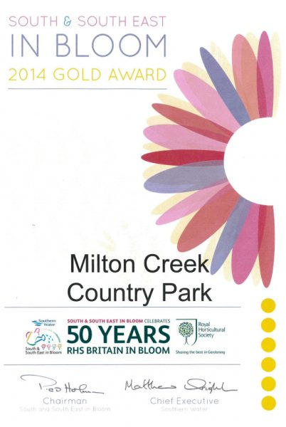 South East in Bloom – 2014 Gold Award