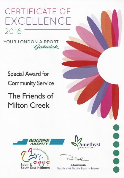 Swale in Bloom – 2016 Special Award for Community Service