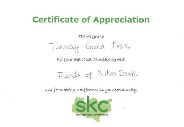 2017 SKC volunteering award