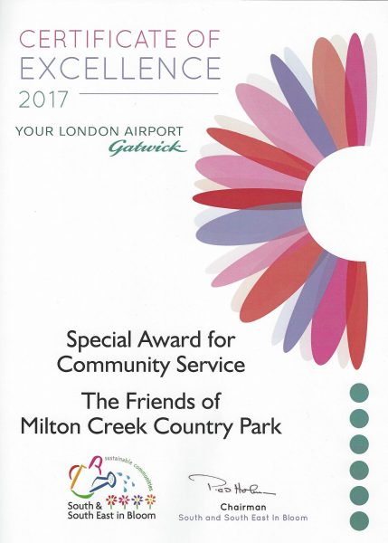 Swale in Bloom – 2017 Special Award for Community Service