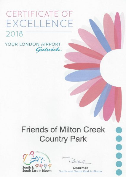 Swale in Bloom – 2018 Certificate of Excellence