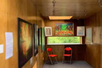 First art exhibition in ROOM by Sioux Peto